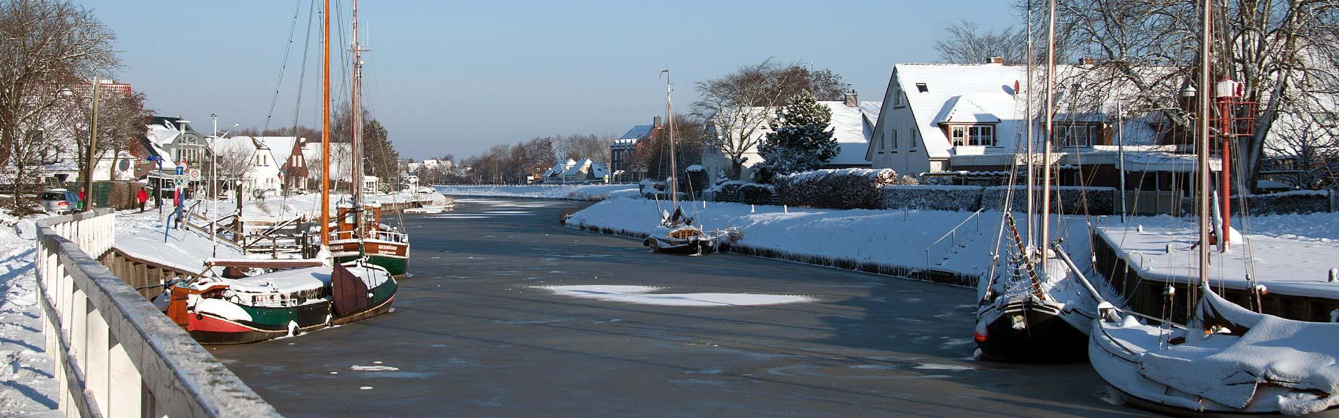 Winterurlaub in Carolinensiel