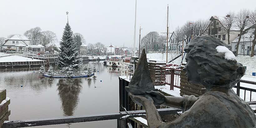 Winter im Museumshafen